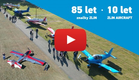 Corporate Celebration of 10th Anniversary of ZLIN AIRCRAFT a. s.