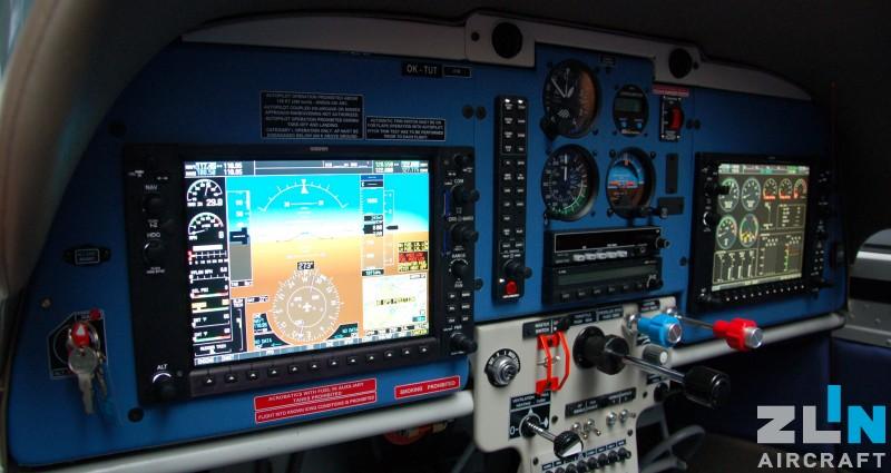 ZLIN Z 143 LSi with new avionic Garmin G950 including autopilot