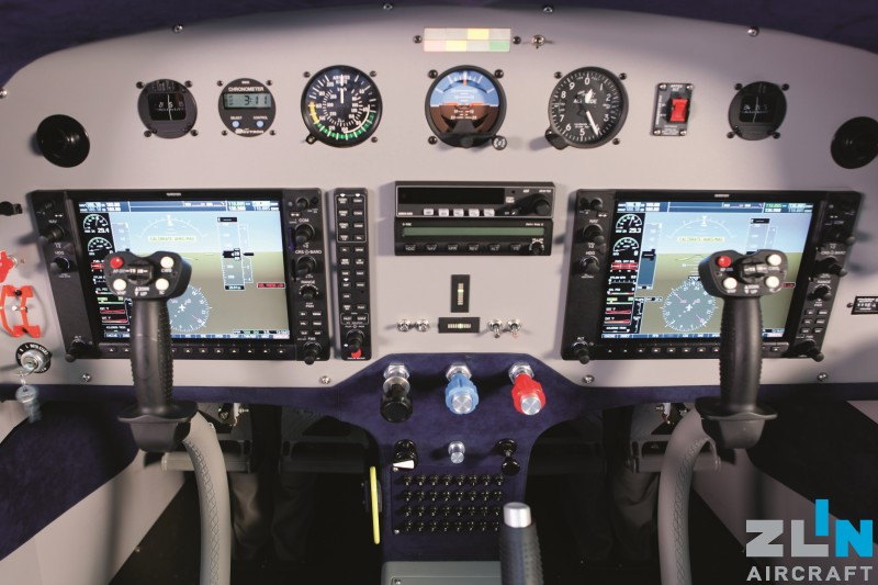 EASA certificate for ZLIN Z 143 LSi with new avionic GARMIN G950 and autopilot
