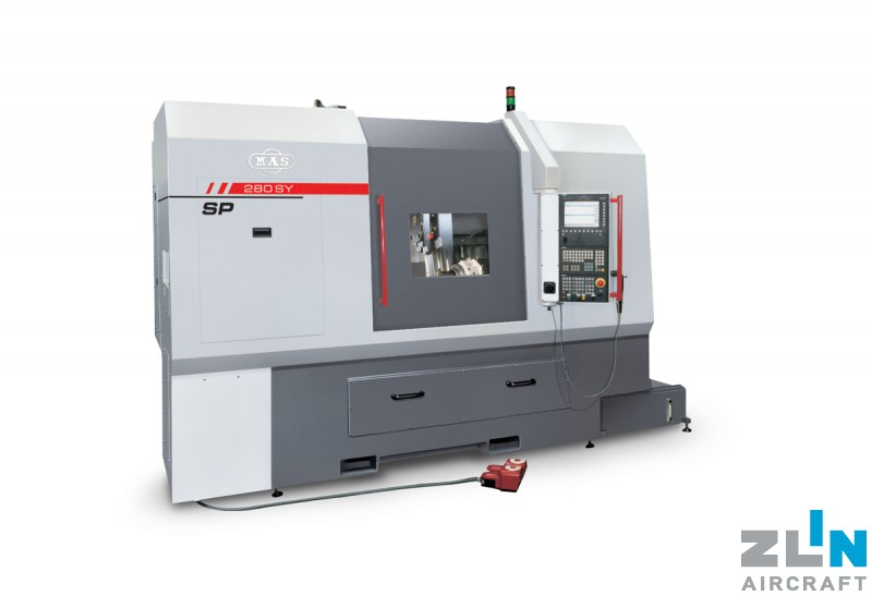 ZLIN AIRCRAFT acquired another new and state-of-art machining center